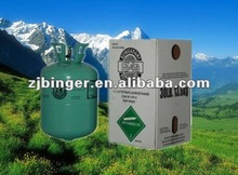 high quality 30lb r134a refrigerant gas with 99.9% purity