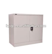 greyish metal shoe cabinet steel cupboard design with glass door