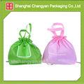 Verde bolso de lazo de tela no tejida bolso de lazo( nw- 521)