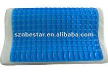 2013 hot sale gel infused memory foam pillow