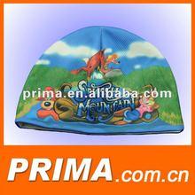 full sublimation print jersey beanie cap hat