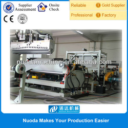 Single/double/triple layer extrusion plastic film production line