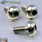 DIN912 Gr5 conical head titanium bolt