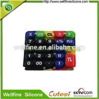 Customize silicone handphone keypad OEM supplier