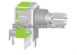 12mm size heavy torque single pole rotary switch
