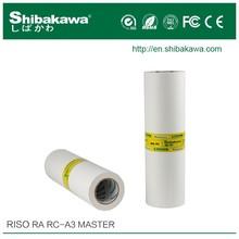 RISO master -duplicator ink and master RA/RC A3 for335/3100/6300 Shibakawa