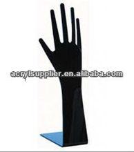 acrylic hand shape jewelry display