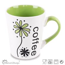 Engrave Printing Stoneware Ceramic Turkish Coffee Ceramic Cup mug
