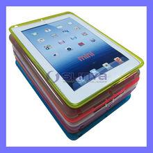 Discount Price 8 Color Semi Transparent Pure Color Slim TPU Case for iPad Mini