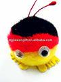 Amostras grátis mini-pelúcia pompom brinquedo toy