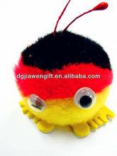 Free samples Mini Plush Pompom Wuppie toy