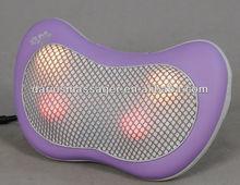 2013 hot new products car/home/office use multifunctional shiatsu massage pillow cushion
