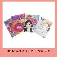 Children fashion activity book