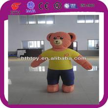 2014 beat selling bear inflatable cartoon characters