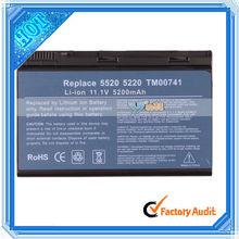 Laptop Li-ion Battery For Acer TravelMate 5200 5620 7520 5720 5520 7720 Black (N6411)