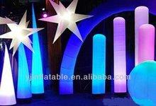 hot sale unique portable inflatable stage light decoration