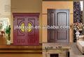 baratos de alta qualidade interior em madeira maciça portas duplas