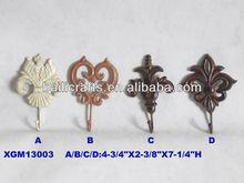 cast iron wall hooks