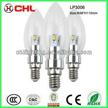 3W 270degree emitting angle led bulb