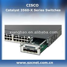 100% Genuine original Cisco Switch Catalyst 3560X-48T-L 48 ports