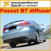 PU 2012 New Passat diffuser/Passat B7 rear diffuser for VW
