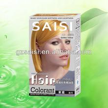 2013 SAISI new design magic combs hair dye