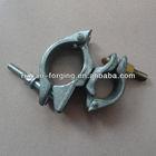76*48.3mm galvanized standard metal pipe clamp