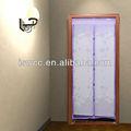 Beautiful voar tela da cortina--- snap em sua própria magnético da porta de malha