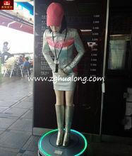 new promotion life size hostess robot