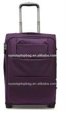 waterproof purple elegant 24 inch big luggage and bags