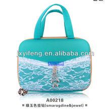 2013 EVA fashion bra bag with lace diamond