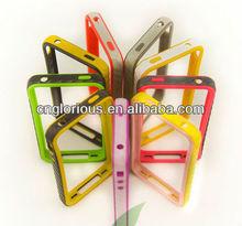 Hot Sale Dual Color Mix Plastic Bumper Case For iPhone 5