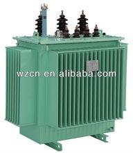 S11-M type 63kva oil immersed power distribution transformer 11kv/0.4kv