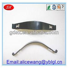 Dongguan custom metal small leaf spring /spring plate/spring steel clip ,ISO9001