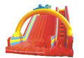 diapositivas inflables del agua