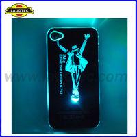 Sense LED Colorful Flash light case for iPhone 5 ,Light Up phone case for iPhone 5