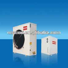 Air to water EVI split heat pump mini air conditioner