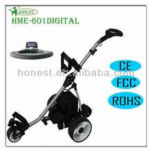 2015 Single Seat Electric Golf Cart Golf Trolley Golf Buggy (HME-601Digital)