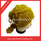 2013 New Popular Handmade Knit Hat Beanie with Top Ball