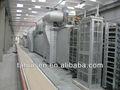 completa de placa de gesso que faz a máquina