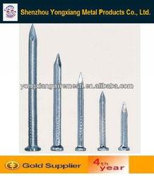steel nails/concrete nails