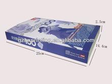 Bespoke paper book cover printed