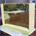 buena calidad de rayos x de protección de vidrio de plomo