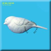chickadee unpainted ceramic bisque birds figurine for crafting