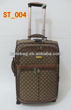 2013 eminent cheap EVA 4 pcs fashion soft Trolley luggage