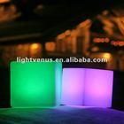 3d color led cube/led cube chair