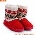 Mode femme hiver& bottes de neige bottes de fourrure chaude