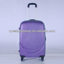 4* 360 degree wheels ABS trolley eva luggage factory