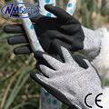 nmsafety 13 calibre preto segurança de corte resistentes luvas mão