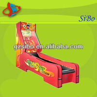 GM3308A hot selling !! funny game machine!! coin operated game machine,cricket bowling machine,indoor bowling machine